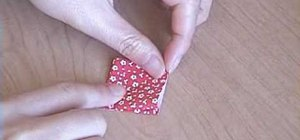 Fold an origami Japanese crane