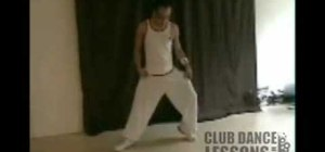 Do Usher's famous hip hop slide glide dance move