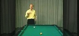 Break in 9 ball pool