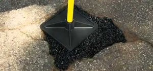 Patch ghastly potholes in driveways with QPR's Pothole Repair