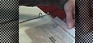 Preserve a newspaper clipping