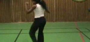 Do the basic moves of Afro-Brazilian dance, Capoeira