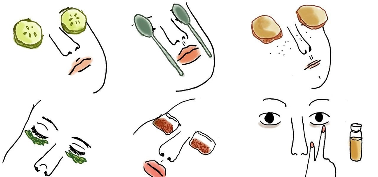 8 Home Remedies That'll Get Rid of Those Dark Circles Under Your Eyes