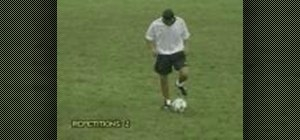 Perform a 90 degree turn in soccer