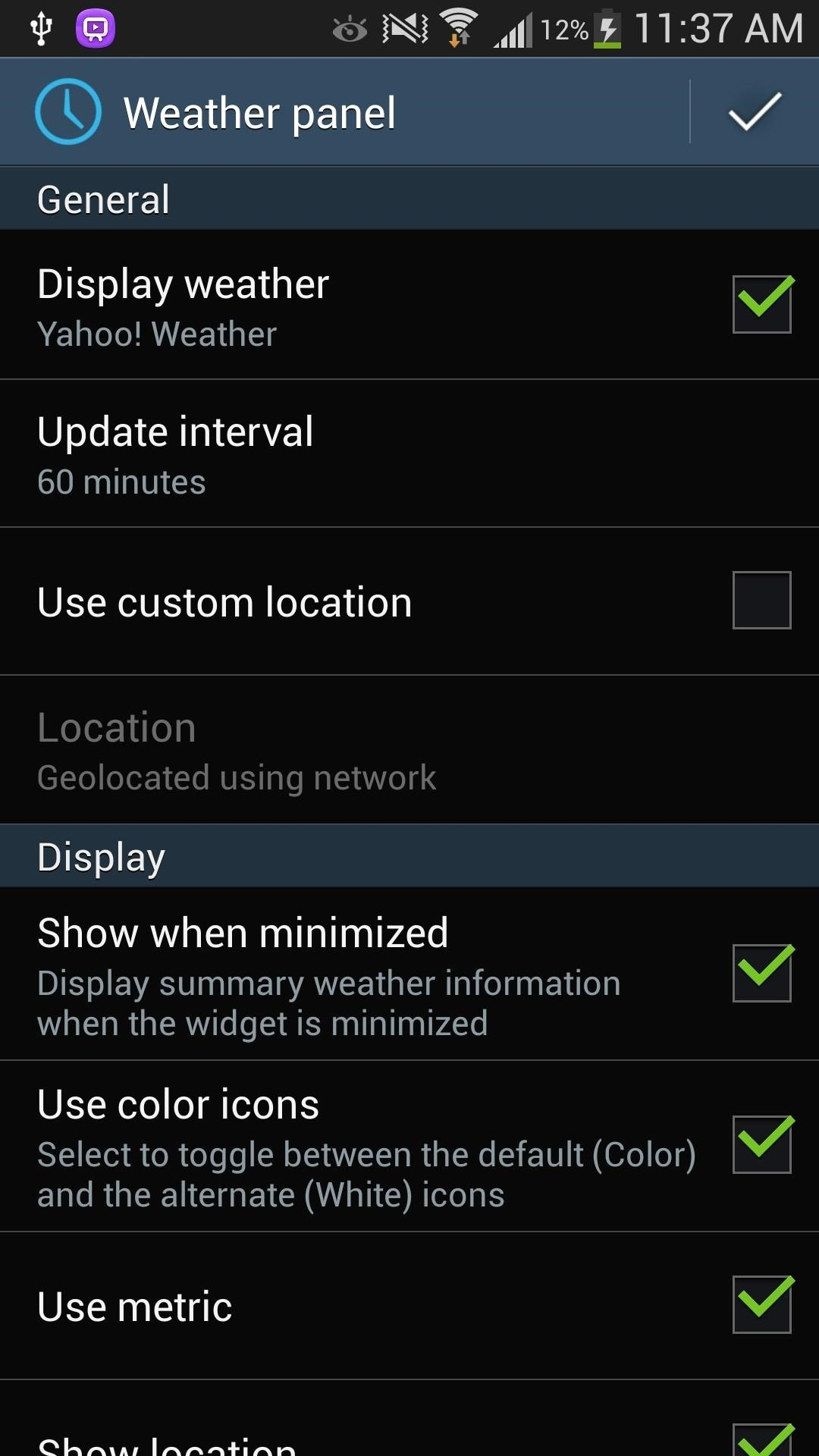 How to Get CyanogenMod's cLock Home & Lock Screen Widget on a Non-Rooted Samsung Galaxy S4