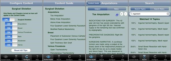 iPhone App Dictates Steps to Amputations and Common Surgical Procedures