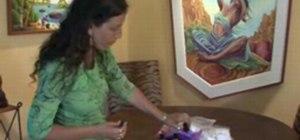 Make an aromatherapy inhaler