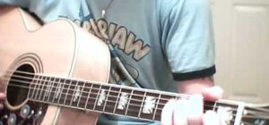 "Play ""Space Oddity"" by David Bowie on acoustic guitar"