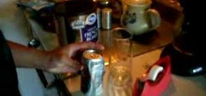 """Perform the """"healed and sealed"""" soda can magic trick"""