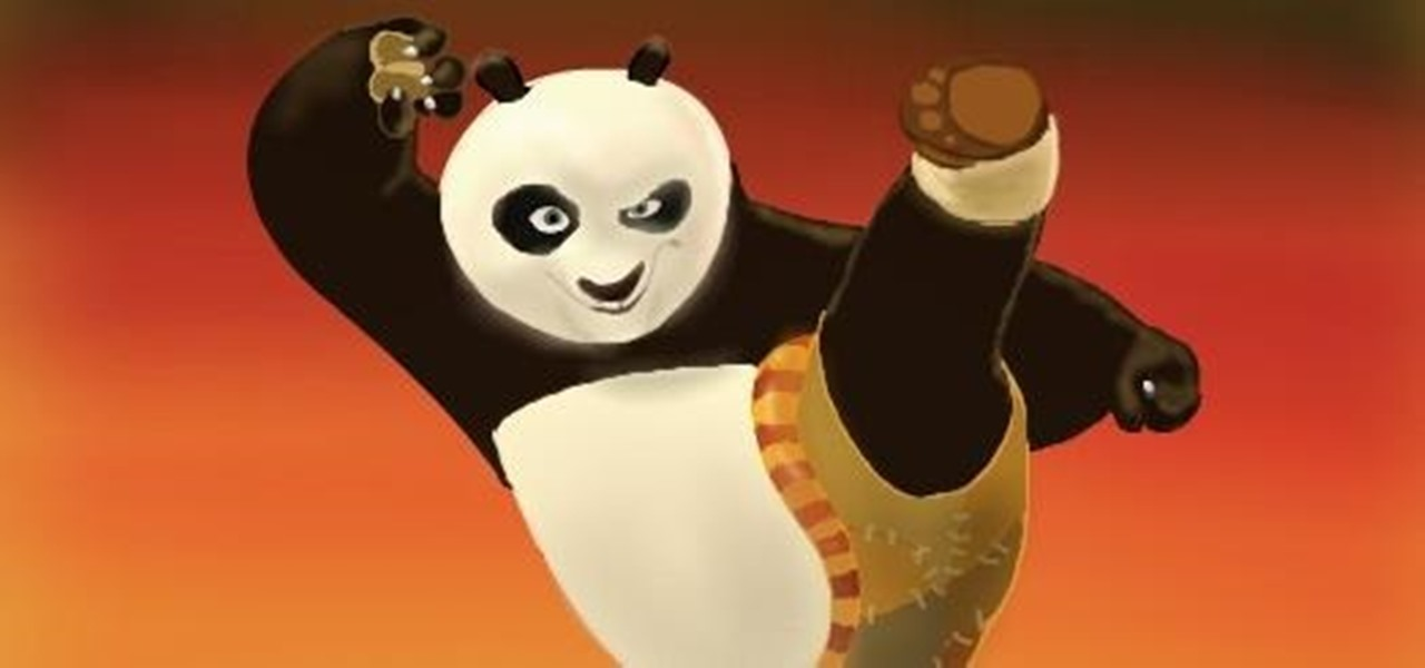 Draw Po from Kung Fu Panda