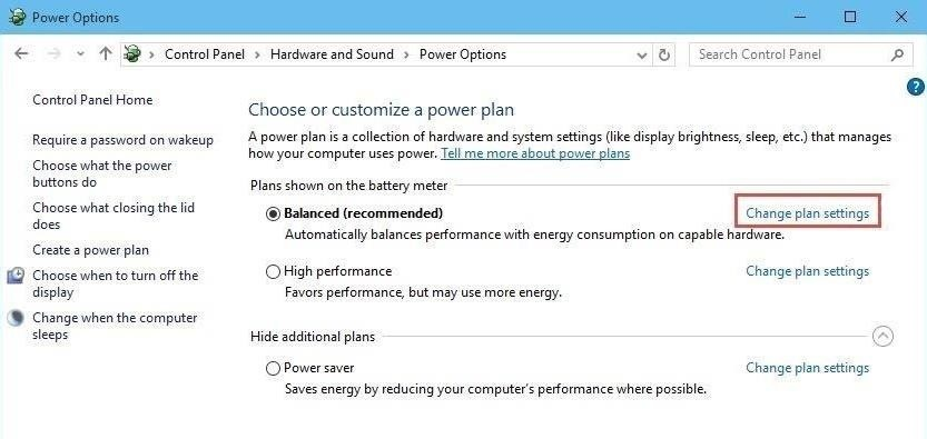 how to get on brightness settings on windows 10