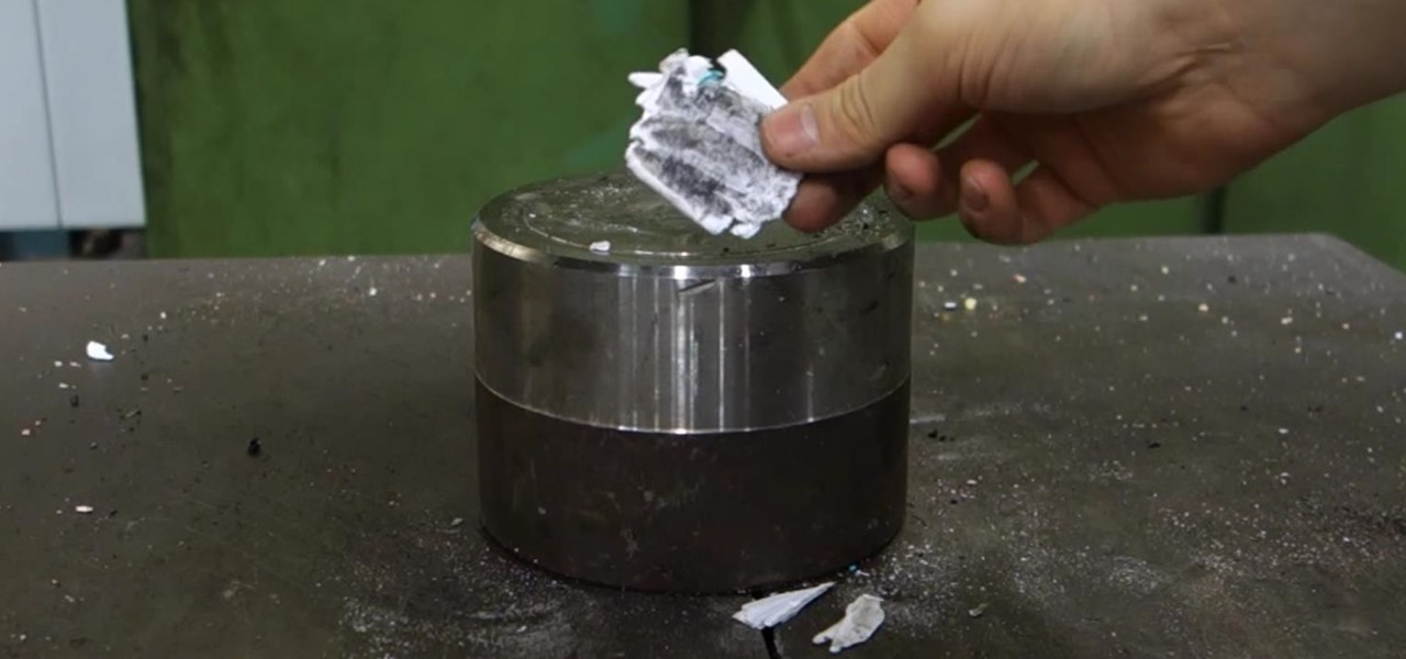 Watch a Piece of Paper Get Destroyed with 7 Folds