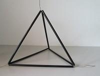 3D Sierpinski Tetraeder Made of Straws