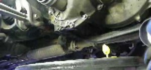 Change the transmission oil on a Honda or Acura