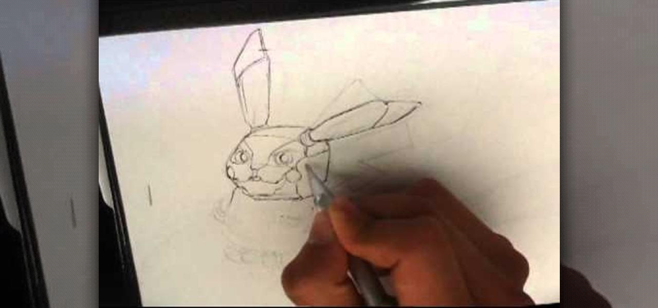 Draw a Pikachu Robot