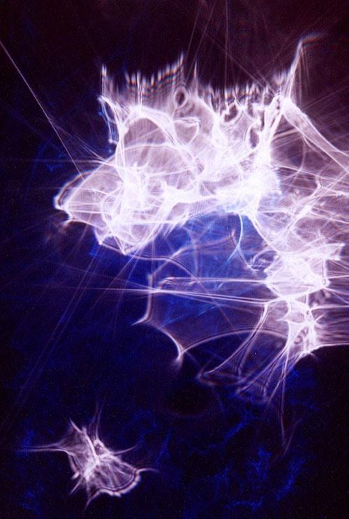 Photograph Beams of Light