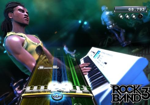New Rock Band 3 UNVEILED (With Fully Functional Keyboard!)