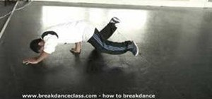 Do a basic breakdance freeze