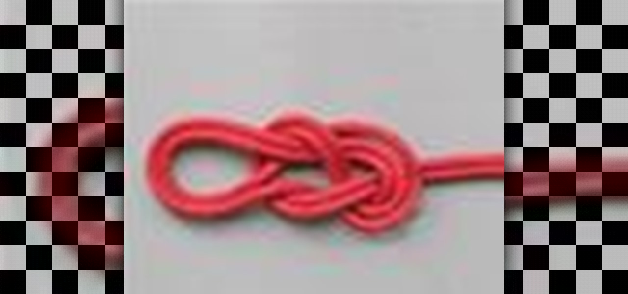 double figure eight knot instructions