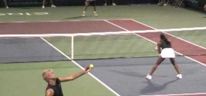 flat serve vs. kick serve