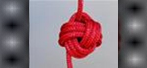 Tie the Monkey's Fist knot with a knot tying animation