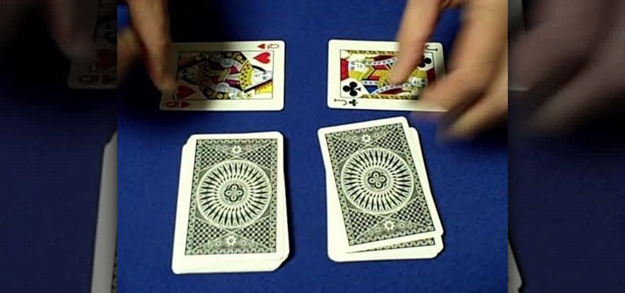 gambling card tricks