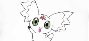 Draw Calumon from Digimon