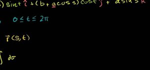 Calculate a surface integral in calculus