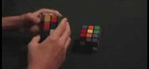 Solve a Rubik's Cube in seven steps