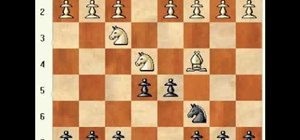 Play the four knights game in chess
