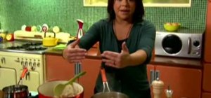 Make Spanish chicken and dumplings with Rachel Ray