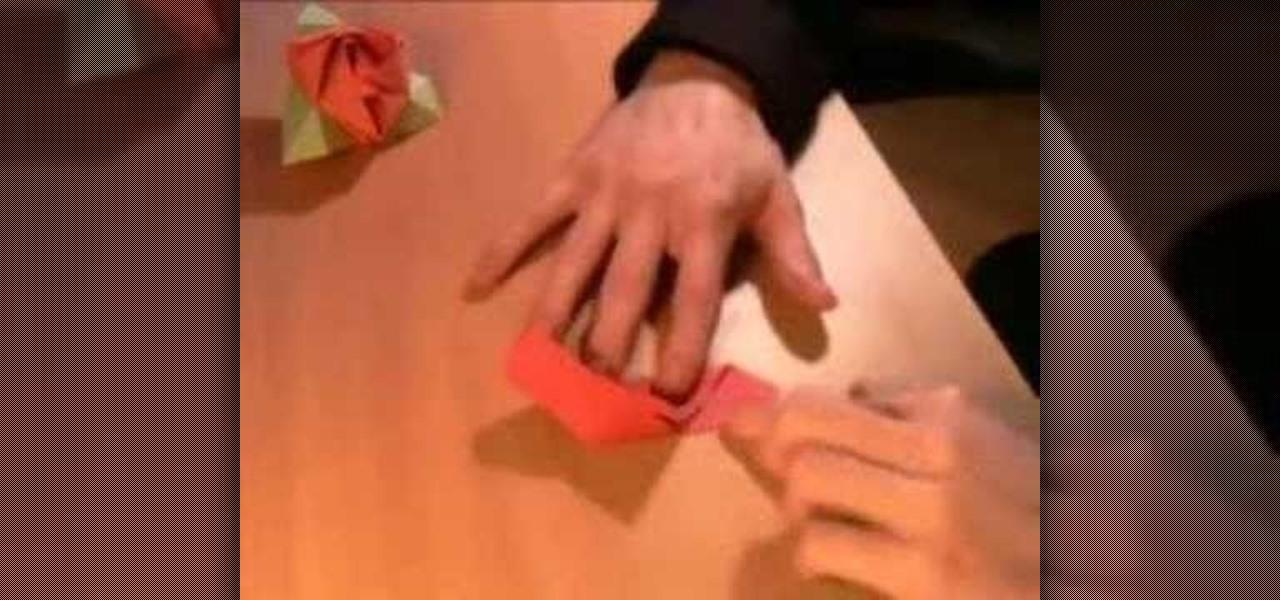 How To Origami A Magic Rose Box Origami Wonderhowto