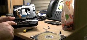 Disassemble a PS3 Blu-ray Disc drive