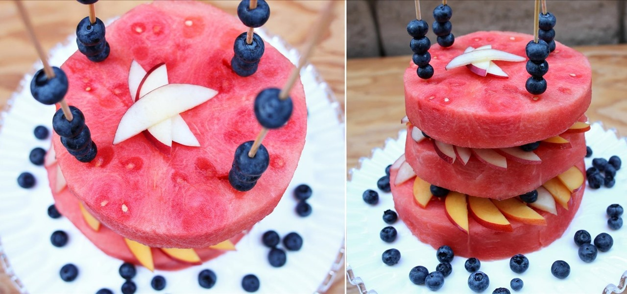 Make a Raw Watermelon Cake (Perfect for Summer)