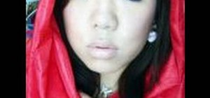 Do a dark Little Red Riding Hood makeup look