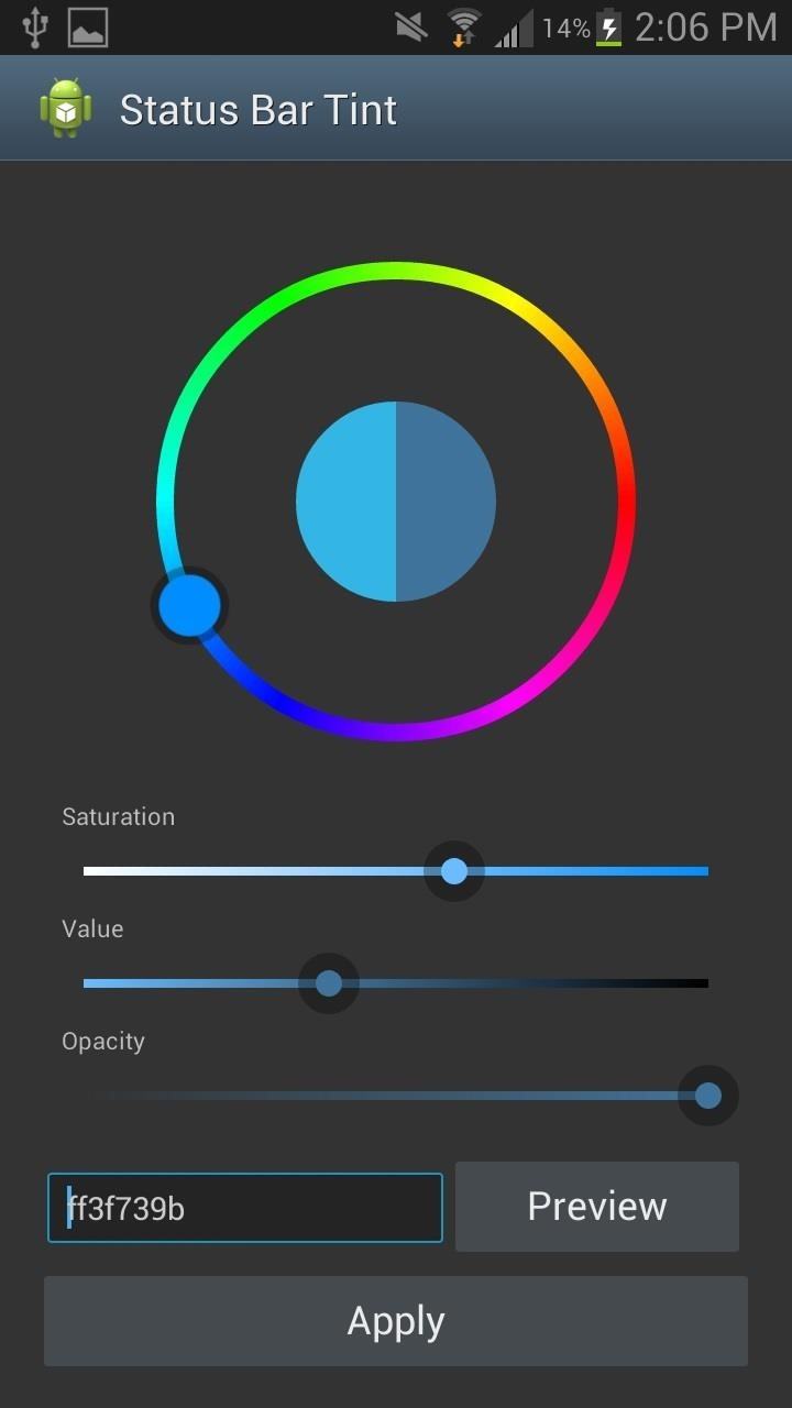 How to Tint the Status Bar to Blend in with Different App Colors on Your Samsung Galaxy Note 2