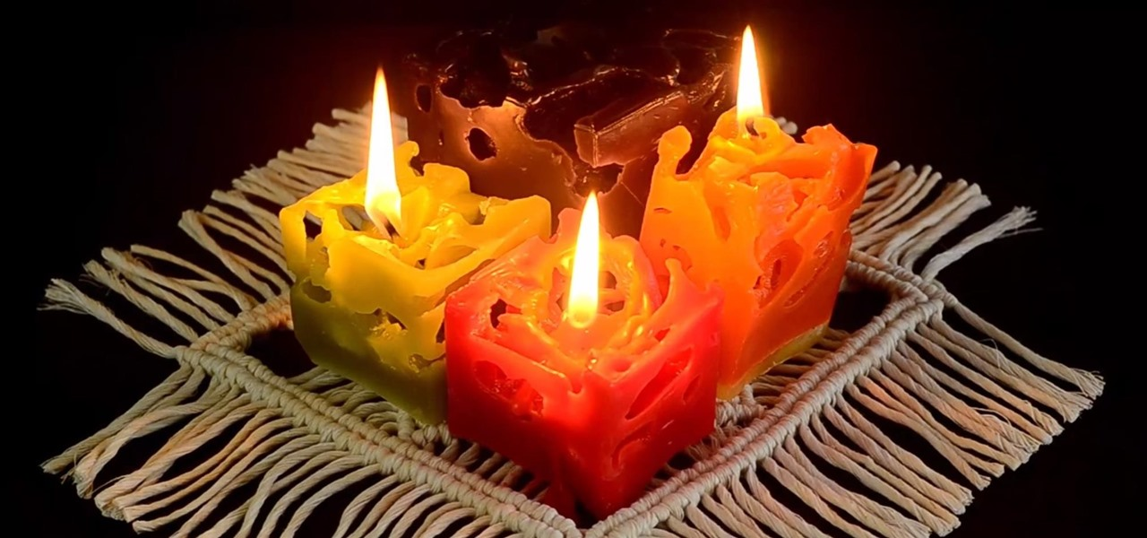 Make Colorful Ice Candles