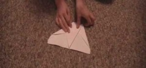 Make a paper airplane that flies far and fast