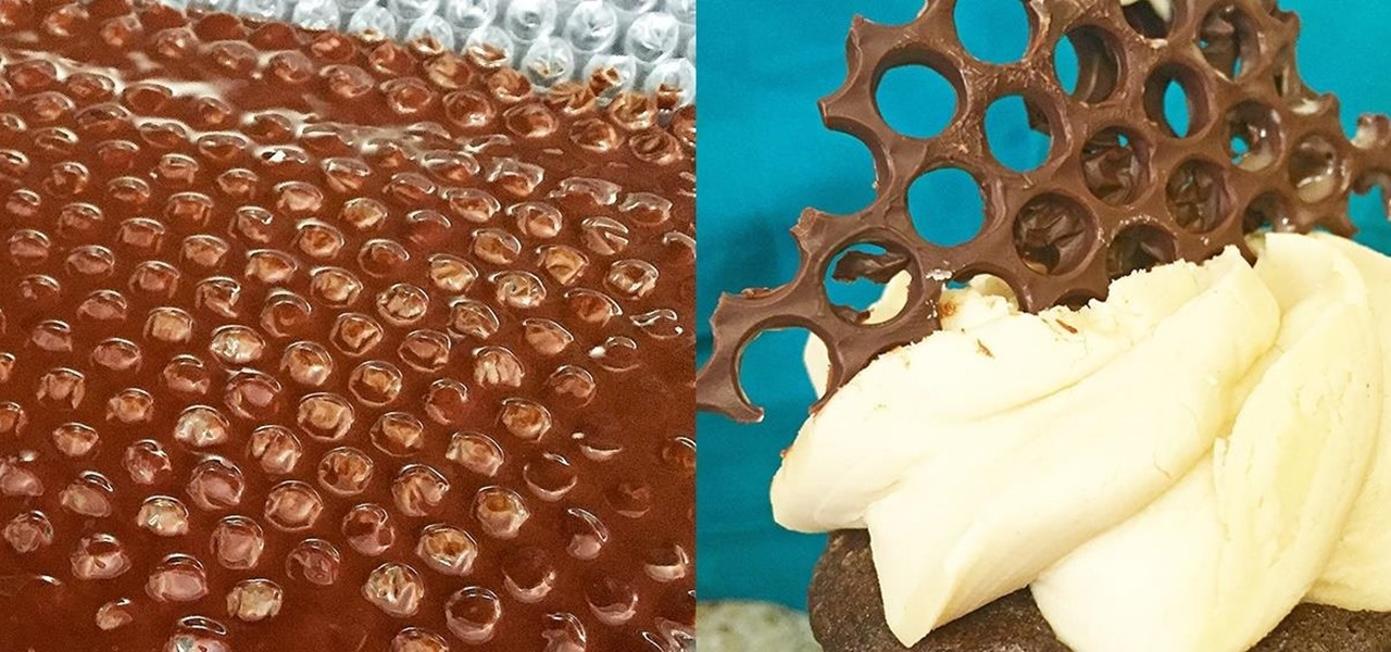 Make Amazing Dessert Art Using Bubble Wrap