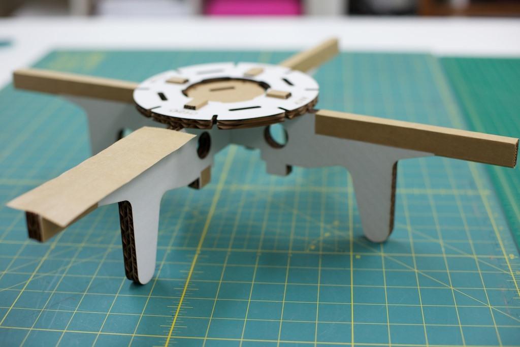 Arduino Air Force: DIY Robotic Cardboard Quadcopters