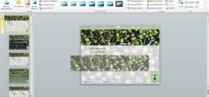 Crop digital images in Microsoft PowerPoint 2010