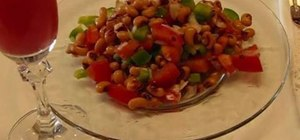 Make healthy black eyed pea salad with Betty