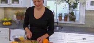 Make chocolate dipped fruit skewers