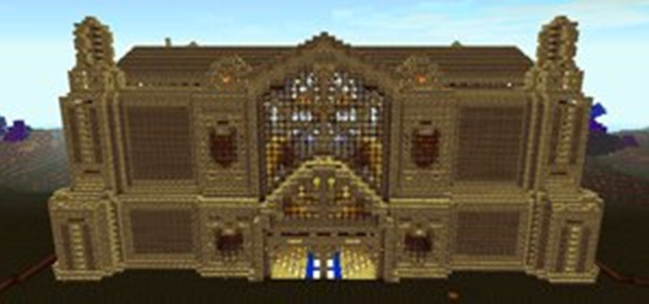 Bevorzugt How to Create an Epic Build in Minecraft « Minecraft :: WonderHowTo MG56