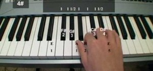 Play all 12 major scales on the piano