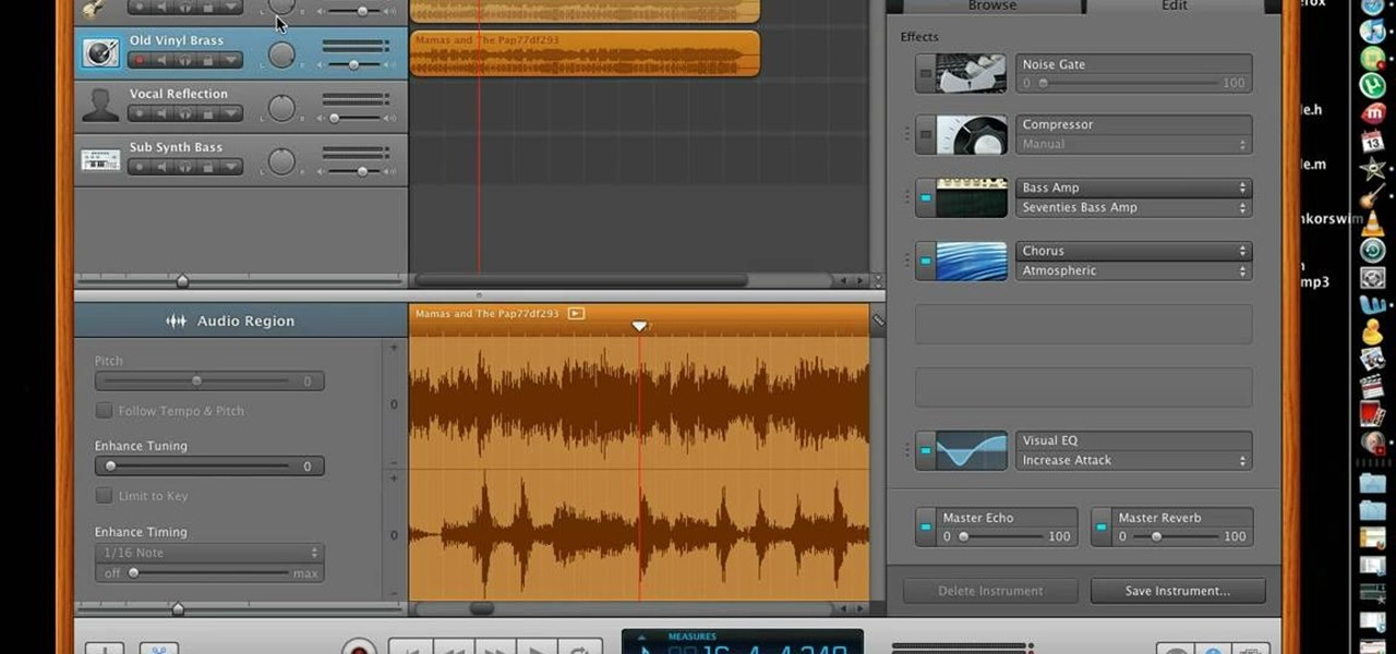 How To Remove Vocals From A Song Using Garageband 171 Garageband