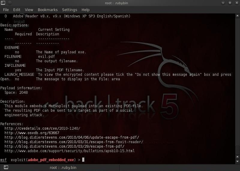 Hack Like a Pro: How to Embed a Backdoor Connection in an Innocent-Looking PDF