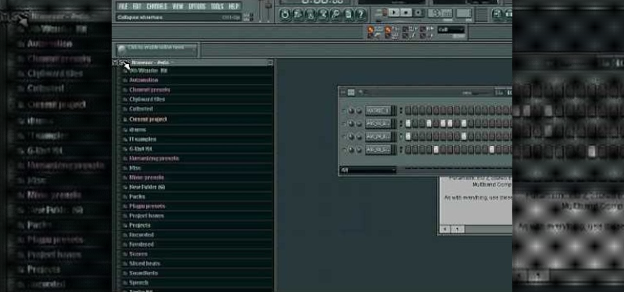 How to Add .wav samples to Fruity Loops Studio � Software Tips