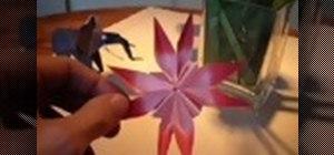 Kirigami a flower
