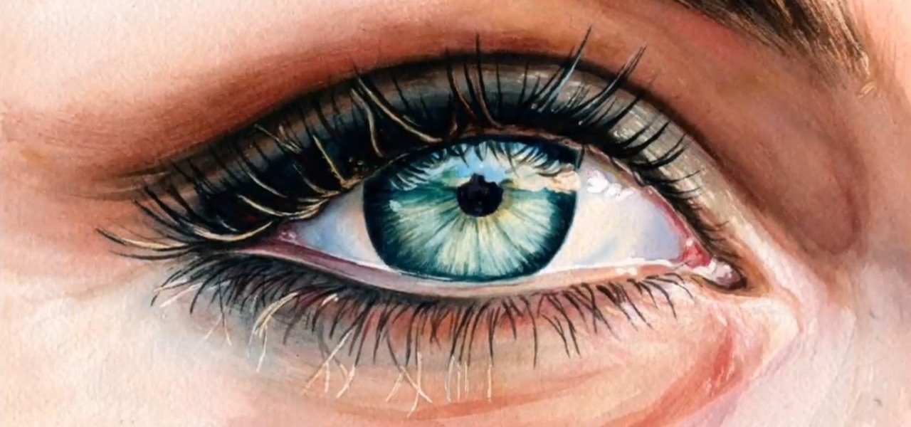 How To Paint Realistic Eyes With Acrylic Paints